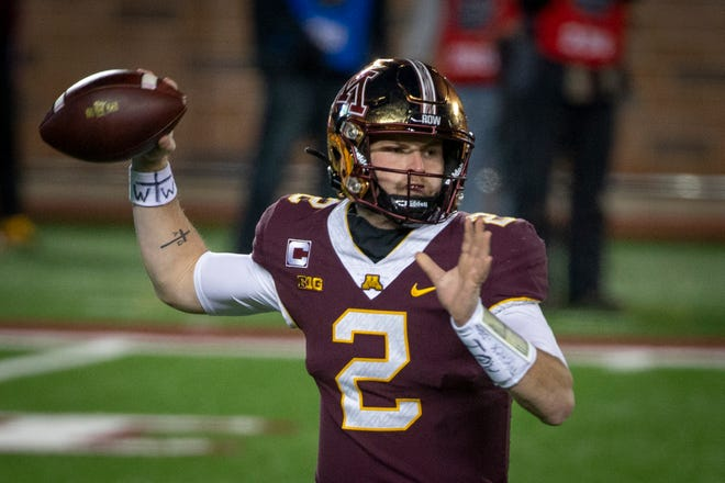 Quarterback Tanner Morgan and the Minnesota Gophers will be looking to bounce back from last week's 49-24 loss to Michigan when they play at Maryland on Friday.