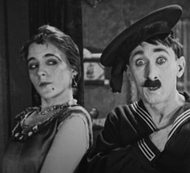 """SILENT COMEDY FUN. For First Friday, Canton's Palace Theatre is serving up the 1925 silent comedy short """"Should Soldiers Marry?"""" with live organ  accompaniment by Jay Spencer. Catch the fun-filled 22-minute film virtually at 7 p.m. Friday on the Palace Theatre's Facebook page."""