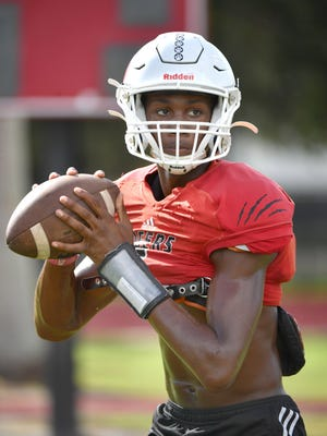 Palmetto High's Josh Siplin is a 6-foot-5, 190-pound senior starting quarterback on the Tigers' football team. When he started with the  program he was a 6-foot, 150-pound freshman.