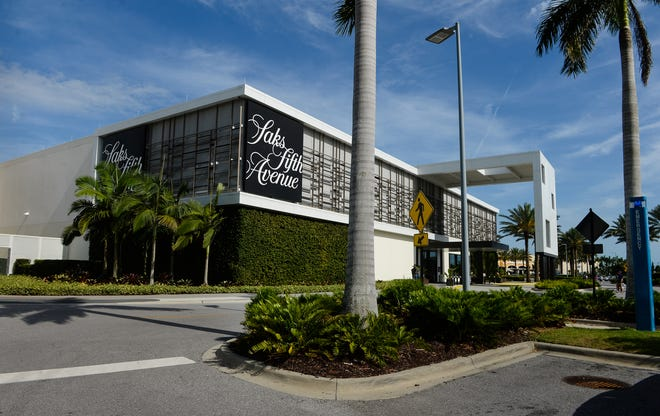Saks Fifth Avenue at the Mall at University Town Center. In a lawsuit filed on Oct. 22 in Sarasota County, the mall claims Saks owes roughly seven months in back rent.
