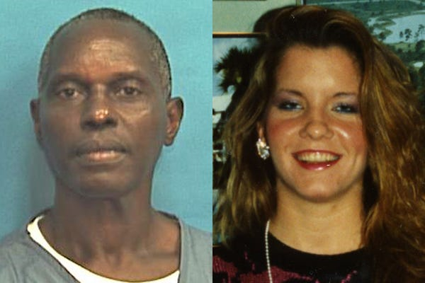 David L. Stephens, left, was found guilty in January of the 1988 murder of Judith Elaine Doherty, 23, in Sarasota.