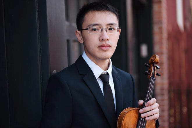 Violinist Max Tan will perform in a virtual concert for the Perlman Music Program/Suncoast.