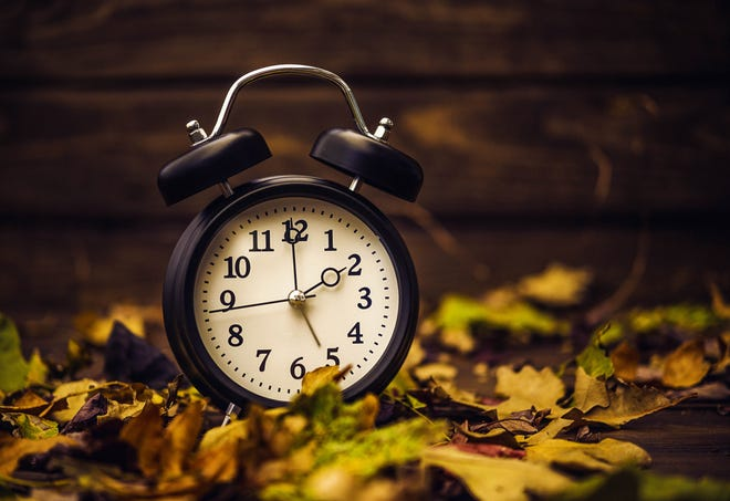 Daylight Savings Time is ending this weekend.