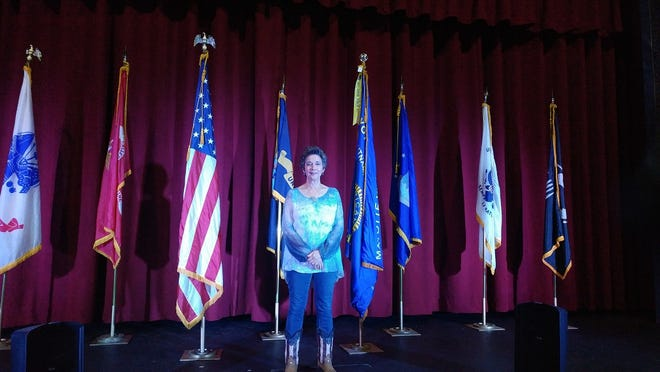 Linda Colangelo, education and communications coordinator for the Northeast District Department of Health, will perform at The Bradley Playhouse's variety show to support local veterans.