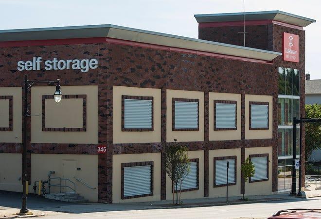 A CubeSmart self-storage location on Shrewsbury Street in Worcester