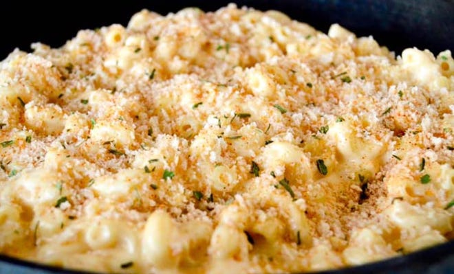 Macaroni and cheese is a specialty at Mac N More.