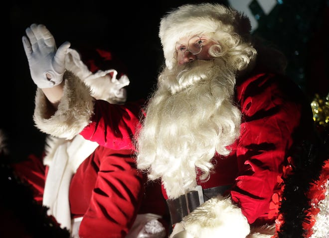 Santa has been a fixture for decades in the Fox River Mall and the  and the Downtown Appleton Christmas Parade. The parade was canceled this year, but Santa is still coming to the mall.