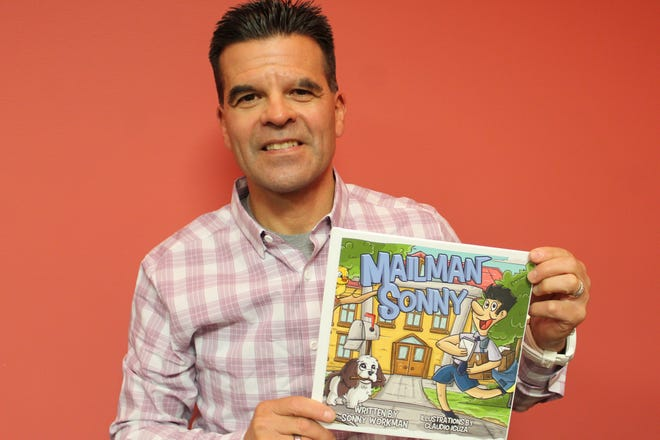 """Sonny Workman has written a children's book, """"Mailman Sonny"""", that shows his day-to-day life as a postal carrier in Fremont. Workman started working on the book in 2019 and collaborated with illustrator Claudio Icuza."""