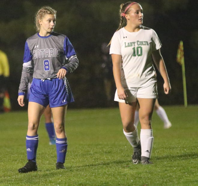 Clear Fork's Alyssa Swank (10) comes back as one of the best defenders in the area in 2020.