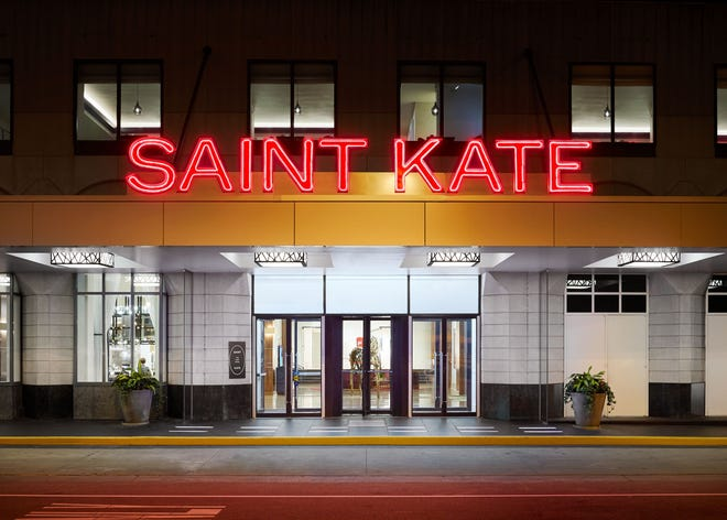 Marcus Corp. reported a $39.4 million third quarter loss asits hotels and cinemas saw a big decline in business. The company's  Saint Kate — The Arts Hotel, will reopen its guest rooms on Thursday.