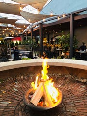 Faubourg's fire pit
