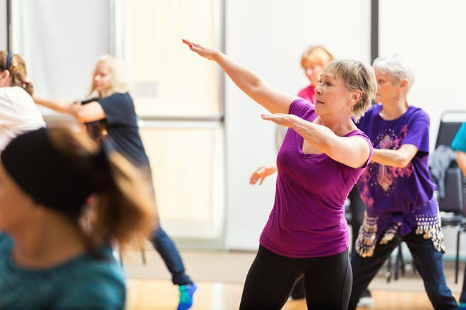 Trails West offers a range of fitness activities and exercise classes to keep residents active.