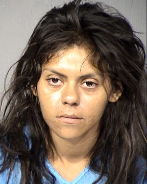 Bianca Renee Garcia, 27, was arrested on charges of armed robbery, kidnapping and aggravated assault, according to police.