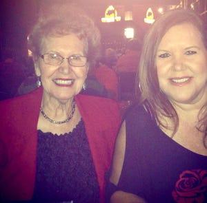 Ally Mahoney and her mom, Jan Mahoney.