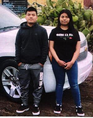 Salinas police say 15-year-old Marcela Cruz left her home with 20-year-old Luis Alfonso Cruz Bruno Oct. 25 and neither has been heard from since.