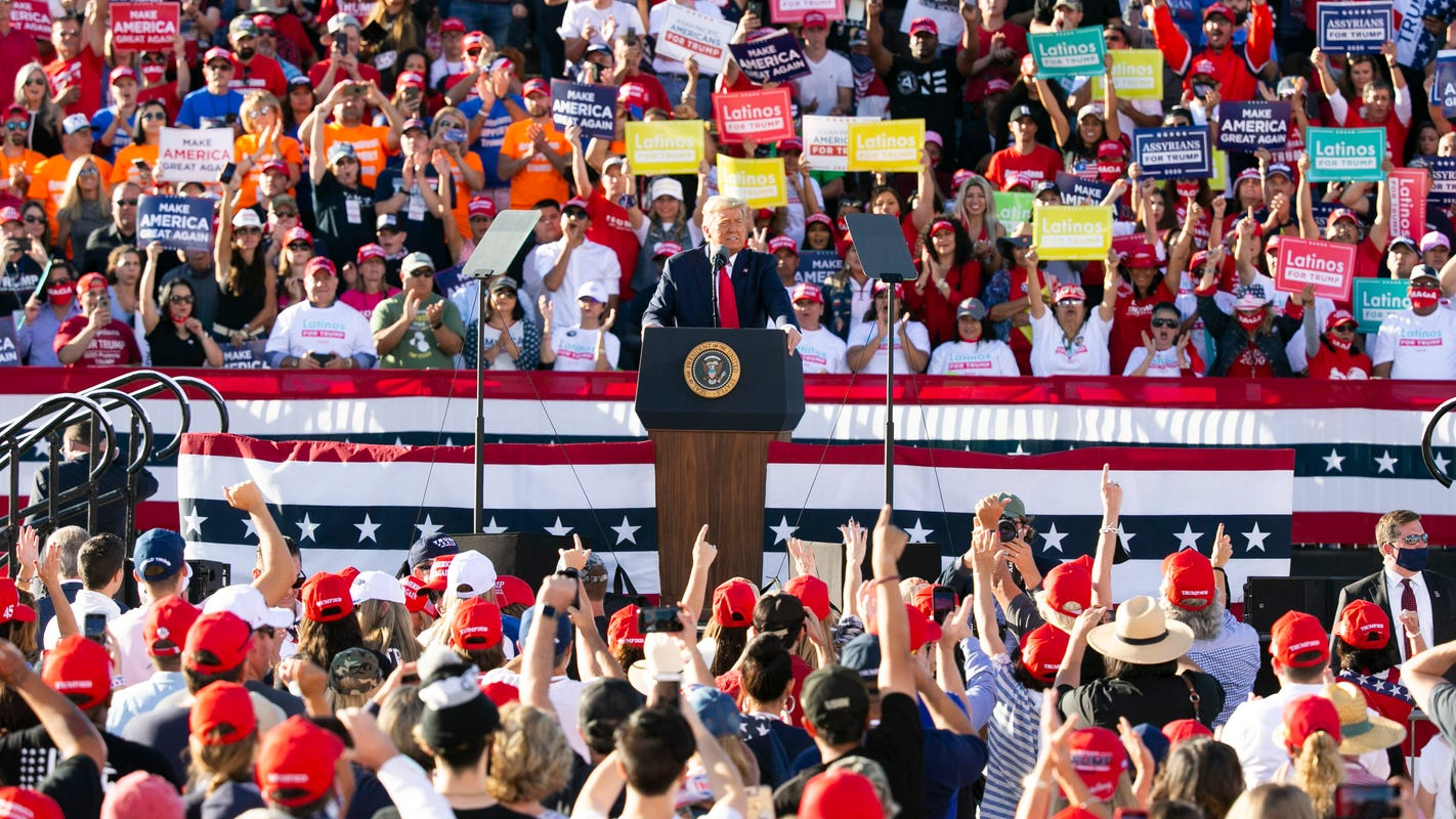 Poll: Most Americans disapprove of Trump's decision to hold massive campaign rallies during COVID-19 pandemic