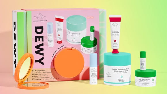 Best skincare gifts for beauty lovers: Drunk Elephant Dewy: The Polypeptide Kit