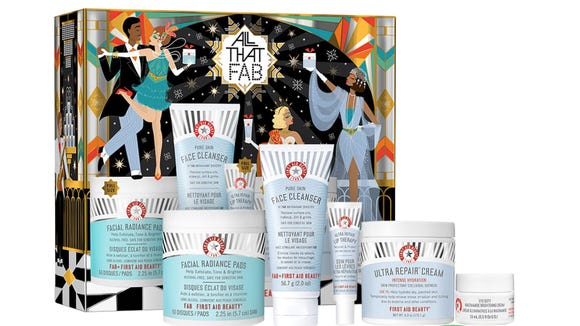Best skincare gifts for beauty lovers: First Aid Beauty All That FAB