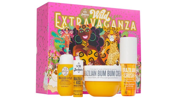 Best skincare gifts for beauty lovers: Sol de Janeiro Wild Extravaganza Set