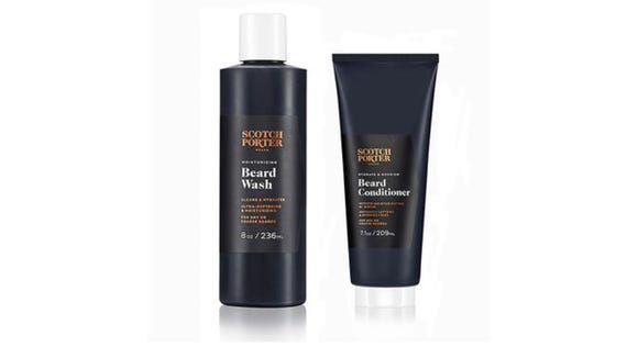 This Scotch Porter set is a great present for those who love their grooming time.