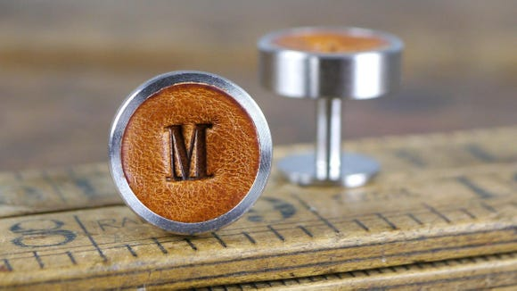 Cufflinks have never looked so fashion-forward.