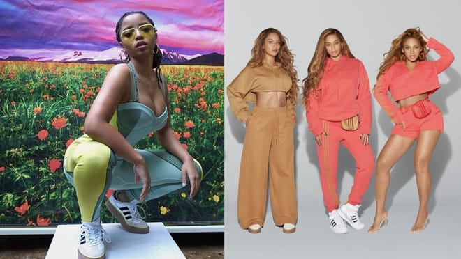 Amigo por correspondencia Artificial Minero  Where to buy Beyonce's new Adidas x Ivy Park Drip 2 collection before it  sells out