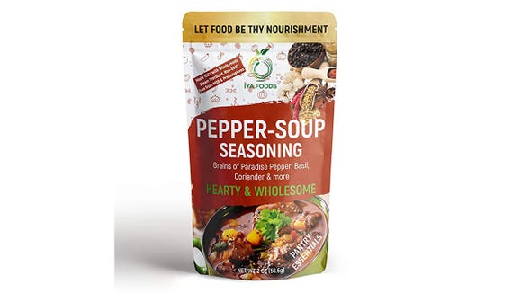 Complete with spicy notes of pepper, basil and coriander.