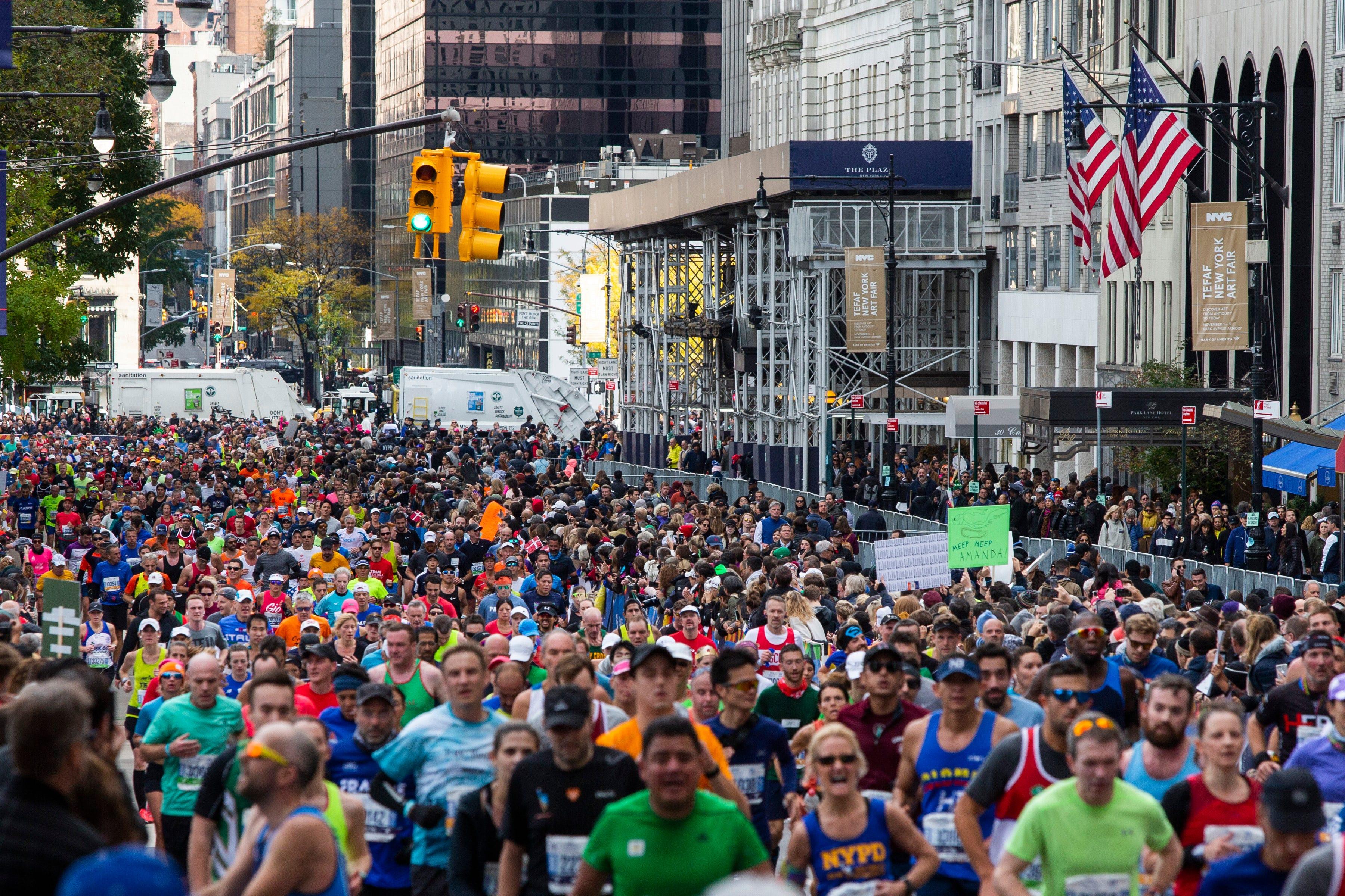 'I felt the emotion of an event': Virtual New York City Marathon has been far fromnormal