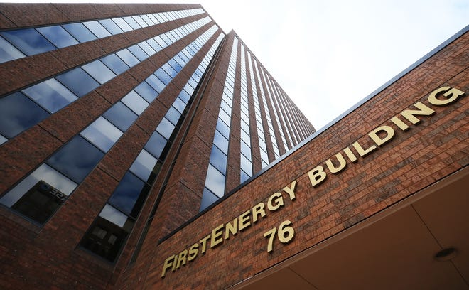 FirstEnergy headquarters in downtown Akron.