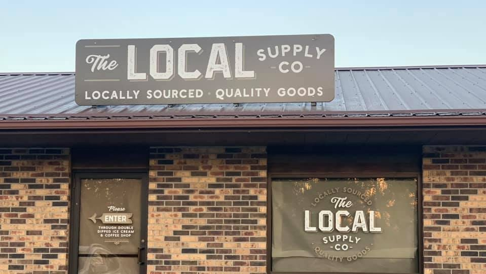 The Local Supply Co. is located at 201 N. Highway 69 in Huxley.