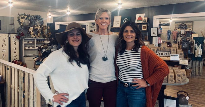 Stacey Noe, Brandie Ubben and Sara Hillebrand have opened a new store in Huxley. The Local Supply Co. features products from dozens of Iowa vendors.