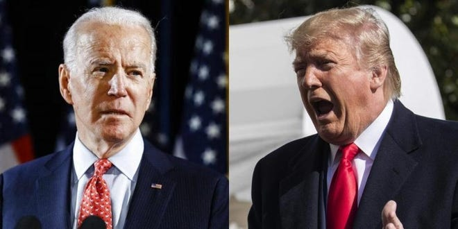 An aggregate of the latest polling indicates Democratic presidential nominee for former Vice President Joe Biden will defeat Donald Trump.