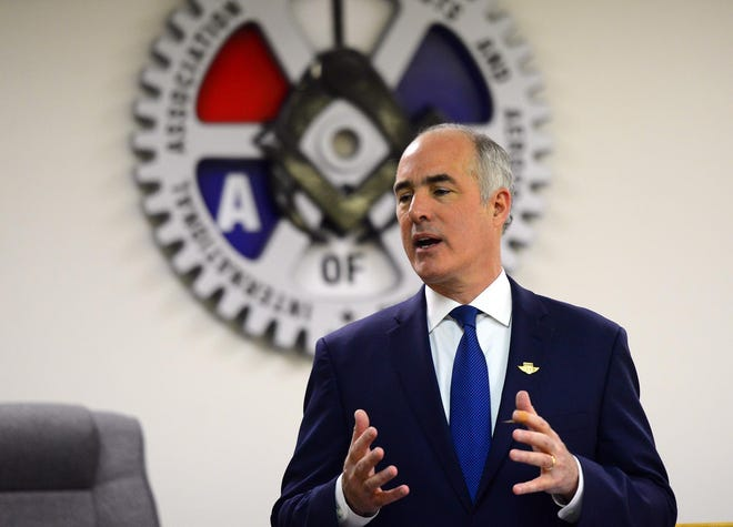 U.S. Sen. Bob Casey highlighted his support for a Civilian Conservation Corps revival at a virtual roundtable on Friday.