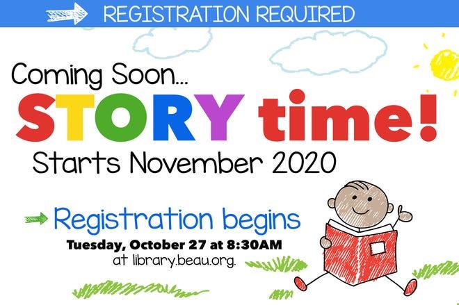 Registration required.
