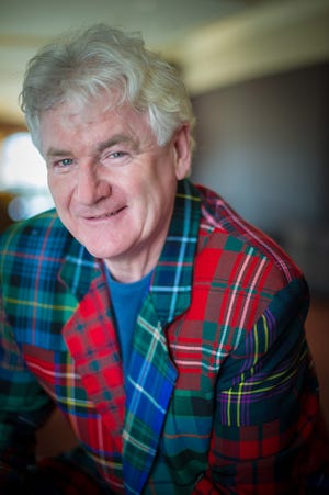 Irish tenor JohnMcDermott's music is being used as a benefit for three local nonprofits that are helping area vulnerable people.