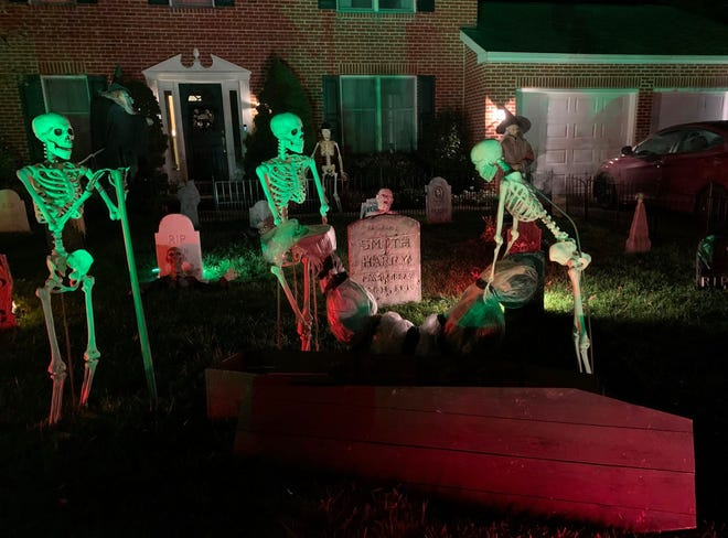 An outdoor display will be featured instead of the traditional Hockessin Haunted House due to coronavirus precautions. Donations will still be accepted to benefit Comp Animals Pet Rescue.
