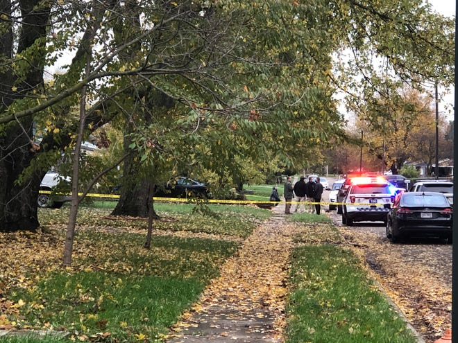 Columbus police investigate a shooting that left 26-year-old Brandon L. Williams dead Friday. Williams and the suspect got into a dispute outside a home on the 600 block of Colton Road on the city's South Side after a minor accident.