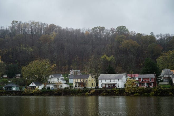 The Village of Malta, along the Muskingum River