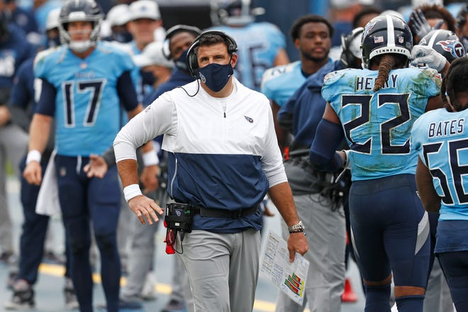 The Tennessee Titans are 5-1, but coach Mike Vrabel wants to see improvement in his defense.