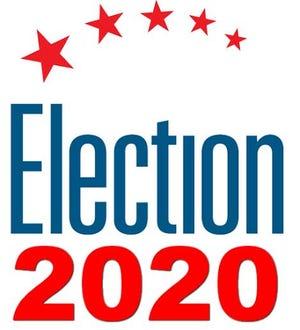 Election 2020 logo.