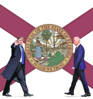 Florida's 29 electoral votes and history of close statewide finishes make it a key for Donald Trump and Joe Biden to win the presidential election.