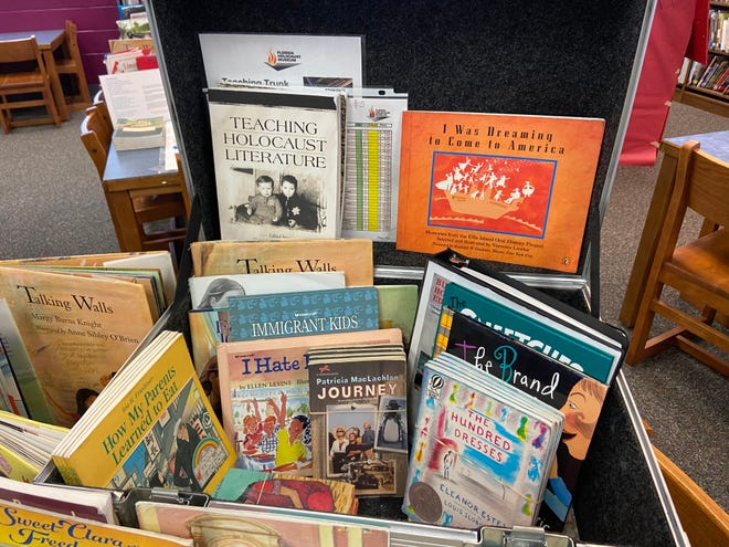 "The Florida Holocaust Museum has provided Belle Terre Elementary School and other schools in the Flagler County School District with ""Teaching Trunks,"" which are filled with educational materials meant to help students understand the historical significance of the Holocaust."