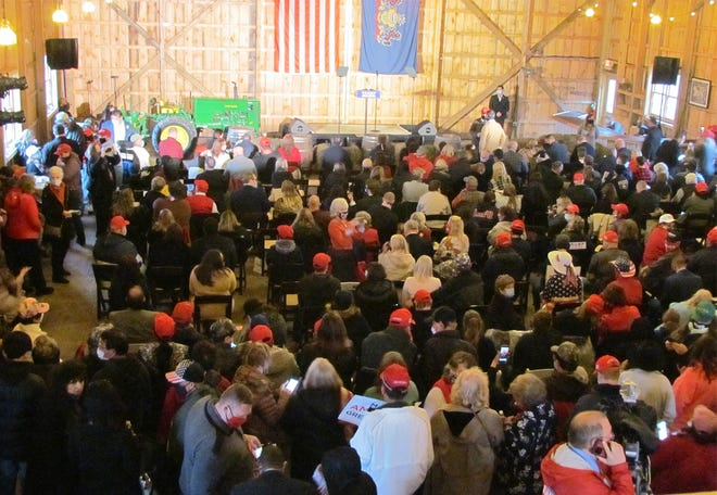 New Leaf Farm hosted the Make America Great Again! event that featured First Daughter Ivanka Trump Oct. 29.