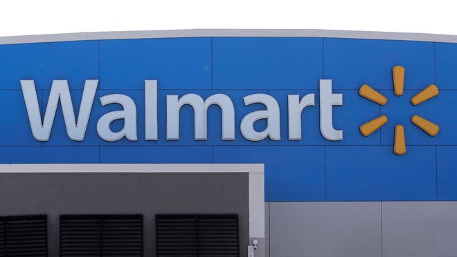 Walmart says it has returned ammunition and firearms to displays at U.S. stores. The nation's largest retailer, based in Bentonville, Arkansas, sells firearms in about half of its 4,700 stores.