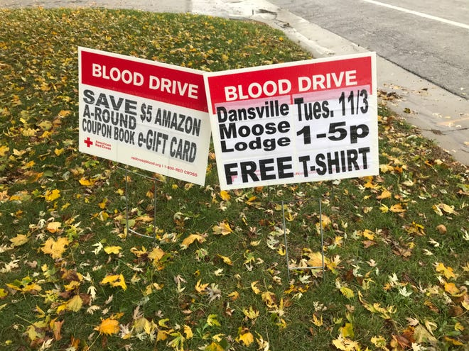 Wayland American Legion and Dansville Loyal Order of the Moose will hold competing blood drives for the American Red Cross in early November.