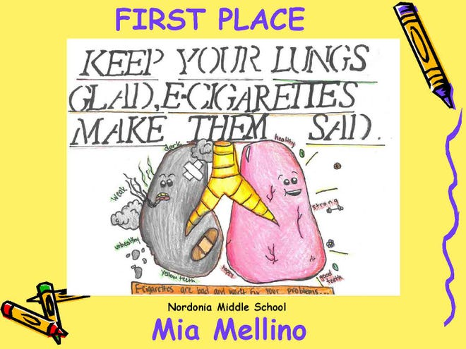 This was a first place winner in the Summit County Prosecutor's 2021 Safety Kids Calendar contest. It was submitted by Mia Mellino of Nordonia Middle School.