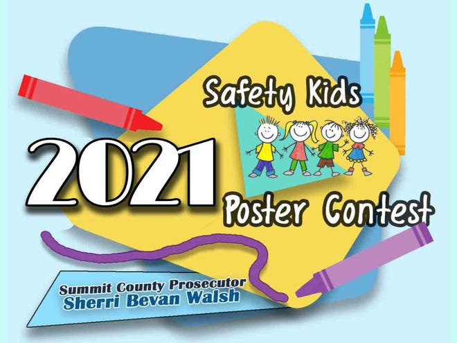 Summit County Prosecutor Sherri  Bevan Walsh on Oct. 28 handed awards in her office's 2021 Safety Kids Poster Contest.