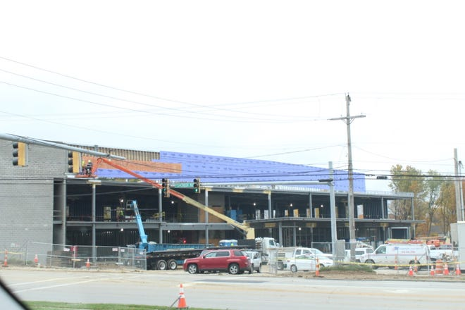 A two-story Summa Health Stow-Kent Medical Center building is planned for 3825 Fishcreek Road and is anticipated to finish mid-May.