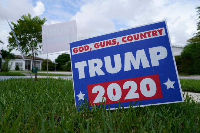 In a county that reliably votes Republican, there has been an outpouring of contributions from Polk County to President Donald Trump's campaign, the Republican Party and affiliated groups.