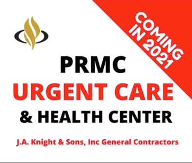 Pratt Regional Medical Center has announced the addition of an urgent care center for Pratt, to be located in the former Aaron's Rent to Own buidling on First Street.